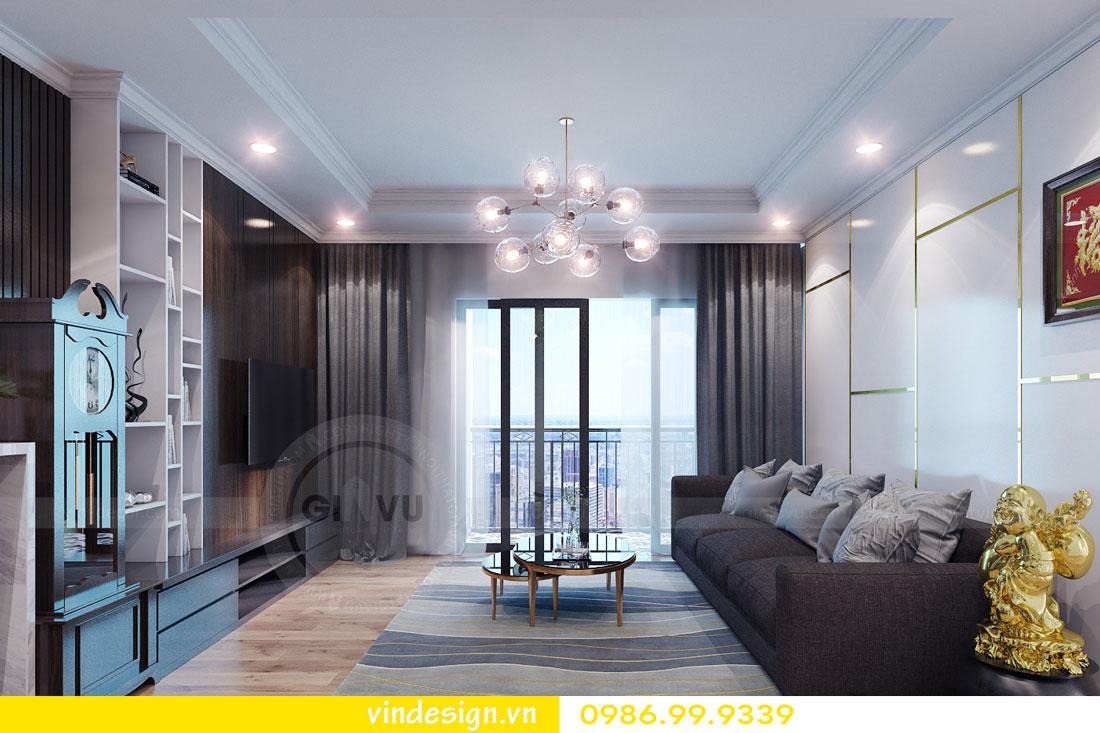 Thiết kế nội thất chung cư sky lake tòa S1 căn 05A - Hotline: 0986999339 view 1