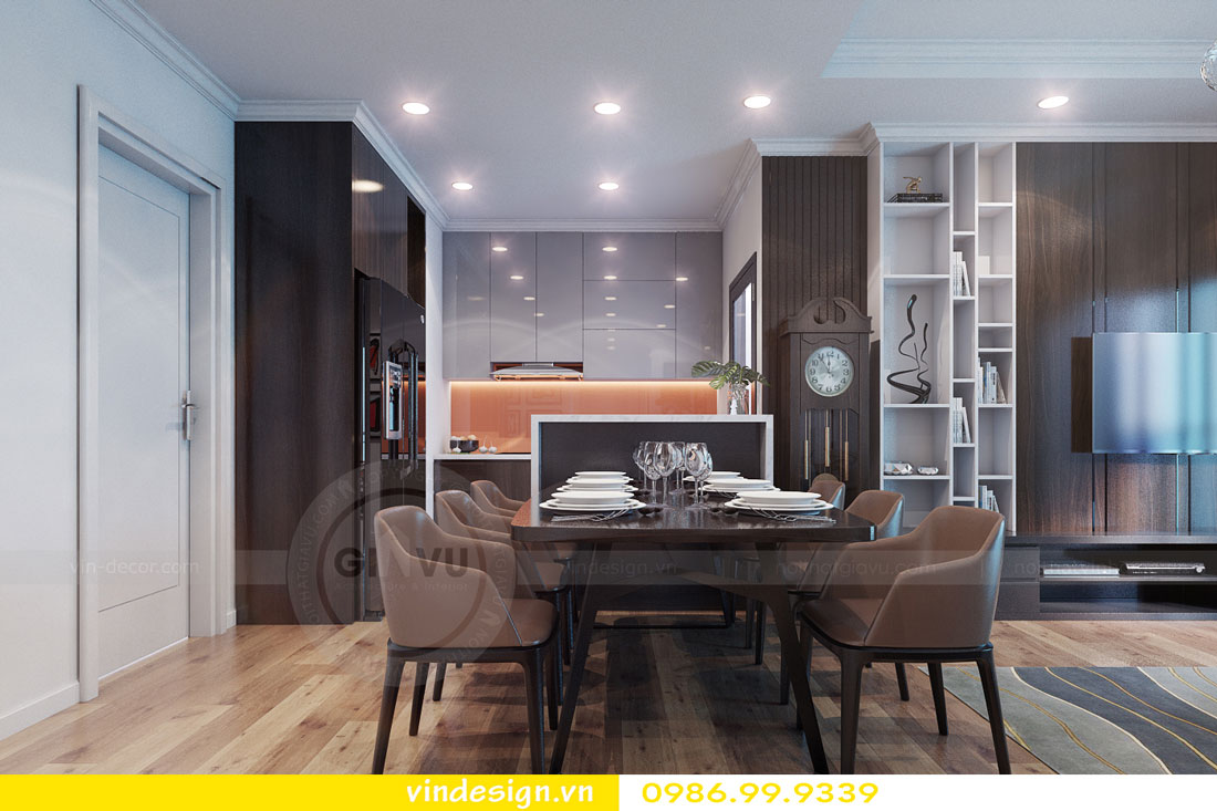 Thiết kế nội thất chung cư sky lake tòa S1 căn 05A - Hotline: 0986999339 view 4