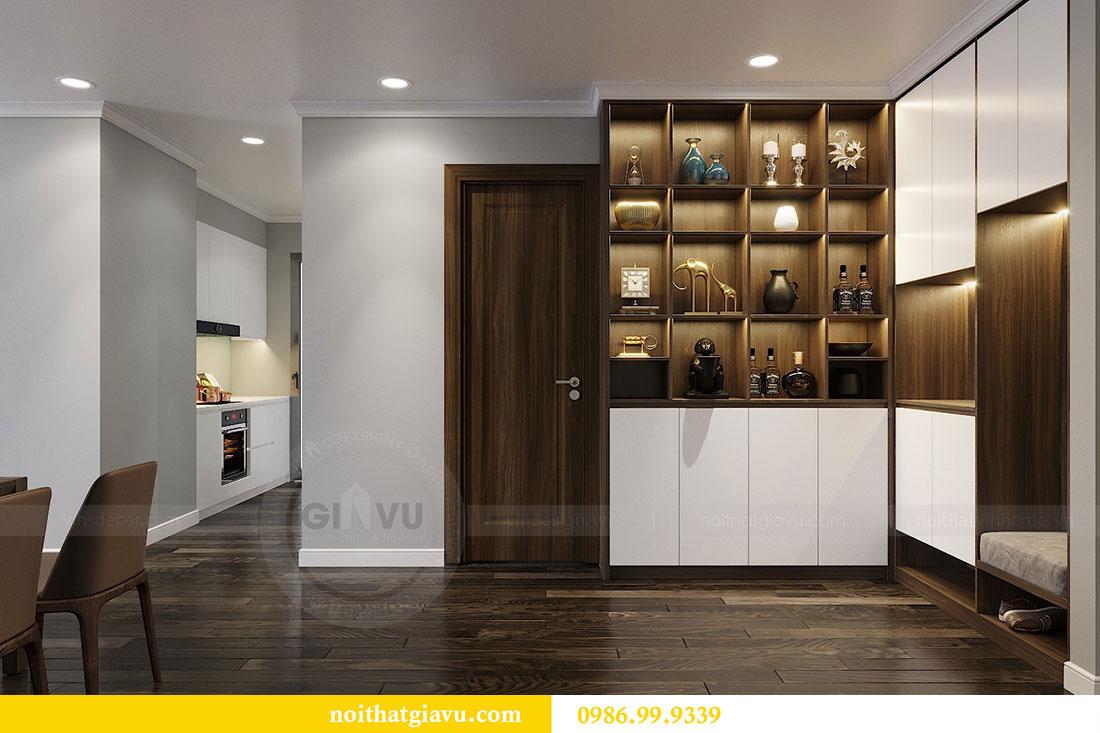 Thiết kế nội thất chung cư Vinhomes D Capitale Trần Duy Hưng 1