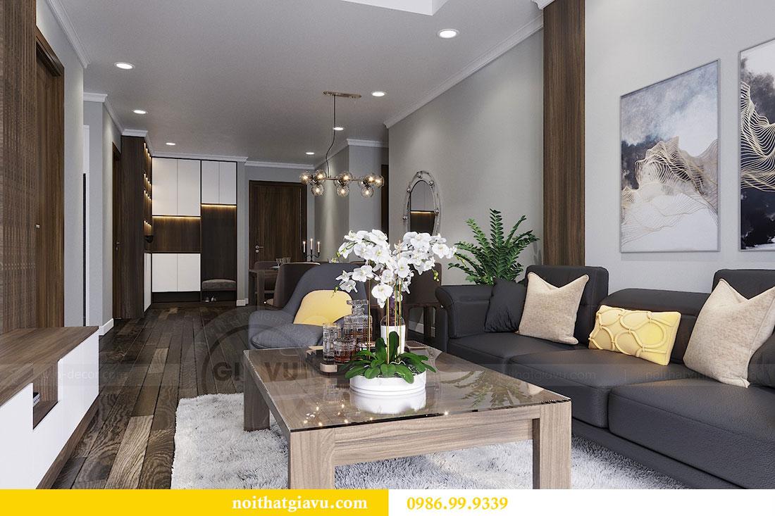 Thiết kế nội thất chung cư Vinhomes D Capitale Trần Duy Hưng 3