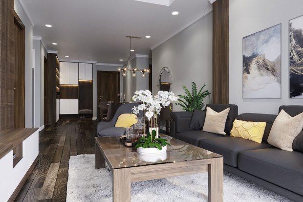 Thiết kế nội thất chung cư Vinhomes D Capitale Trần Duy Hưng