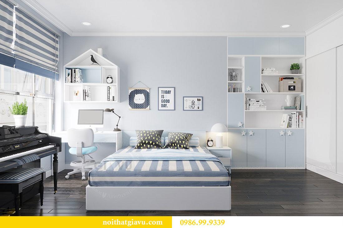 Thiết kế nội thất chung cư Vinhomes D Capitale Trần Duy Hưng 8