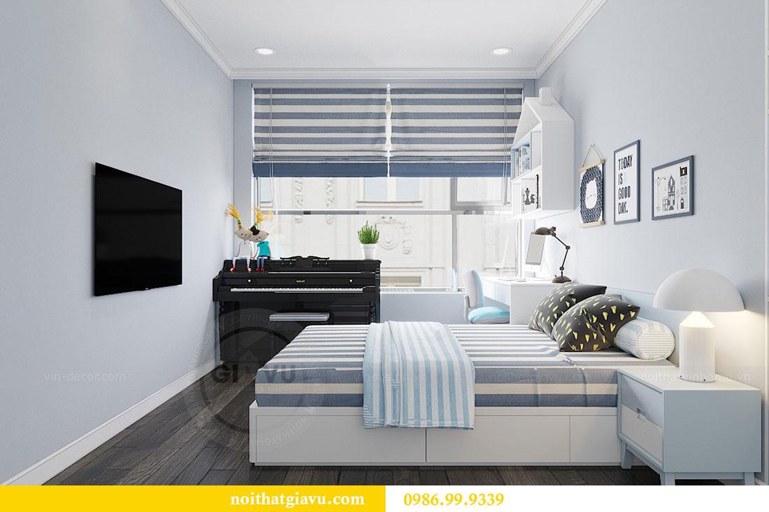 Thiết kế nội thất chung cư Vinhomes D Capitale Trần Duy Hưng 9