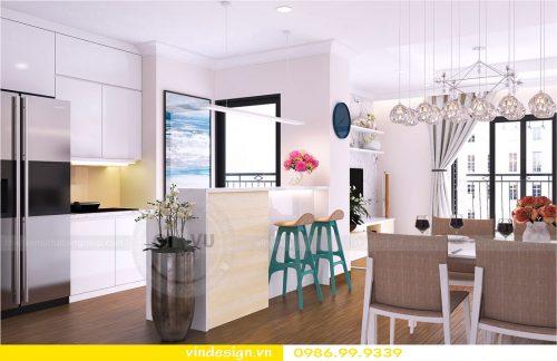 Thiết kế nội thất chung cư Vinhomes Park Hill Times City