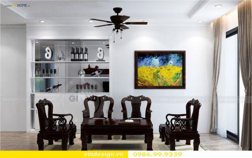 Thiết kế nội thất Vinhomes Park Hill Times City – Call 0986999339