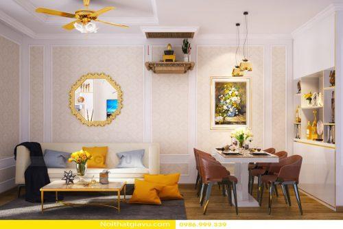 5 mẫu thiết kế nội thất chung cư hiện đại tuyệt đẹp