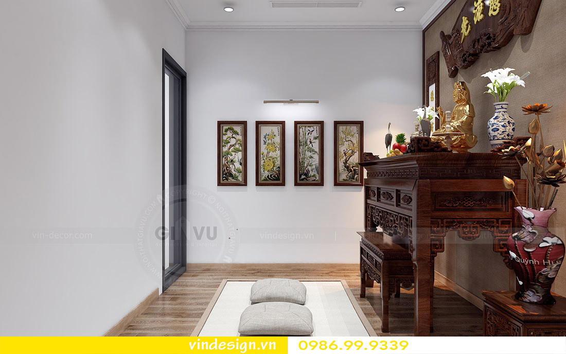 hoàn thiện nội thất căn hộ chung cư Gardenia 10