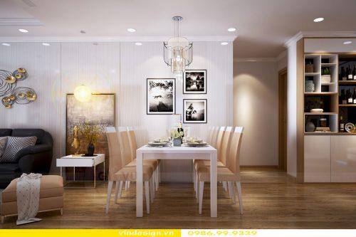 Hoàn thiện nội thất căn hộ chung cư Vinhomes Cầu Diễn Hà Nội