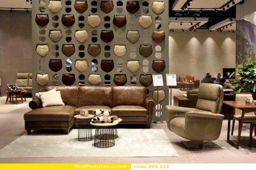 Một số mẫu Sofa da nhập khẩu cao cấp đẹp tiện nghi