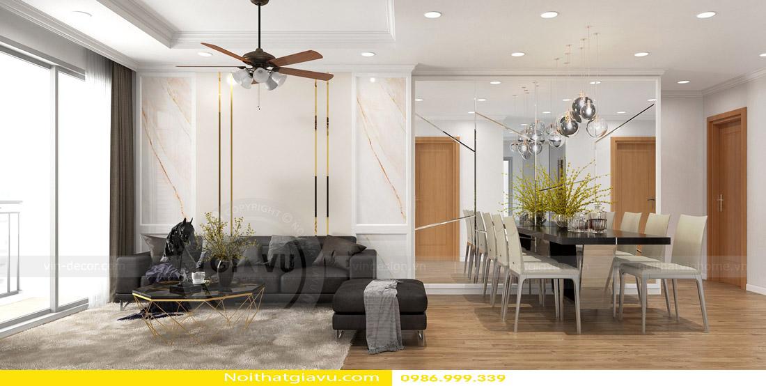 thi công hoàn thiện nội thất căn hộ chung cư Gardenia 01