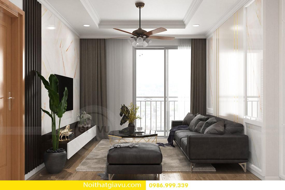 thi công hoàn thiện nội thất căn hộ chung cư Gardenia 02