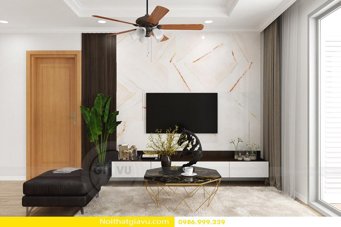 thi công hoàn thiện nội thất căn hộ chung cư Gardenia 03