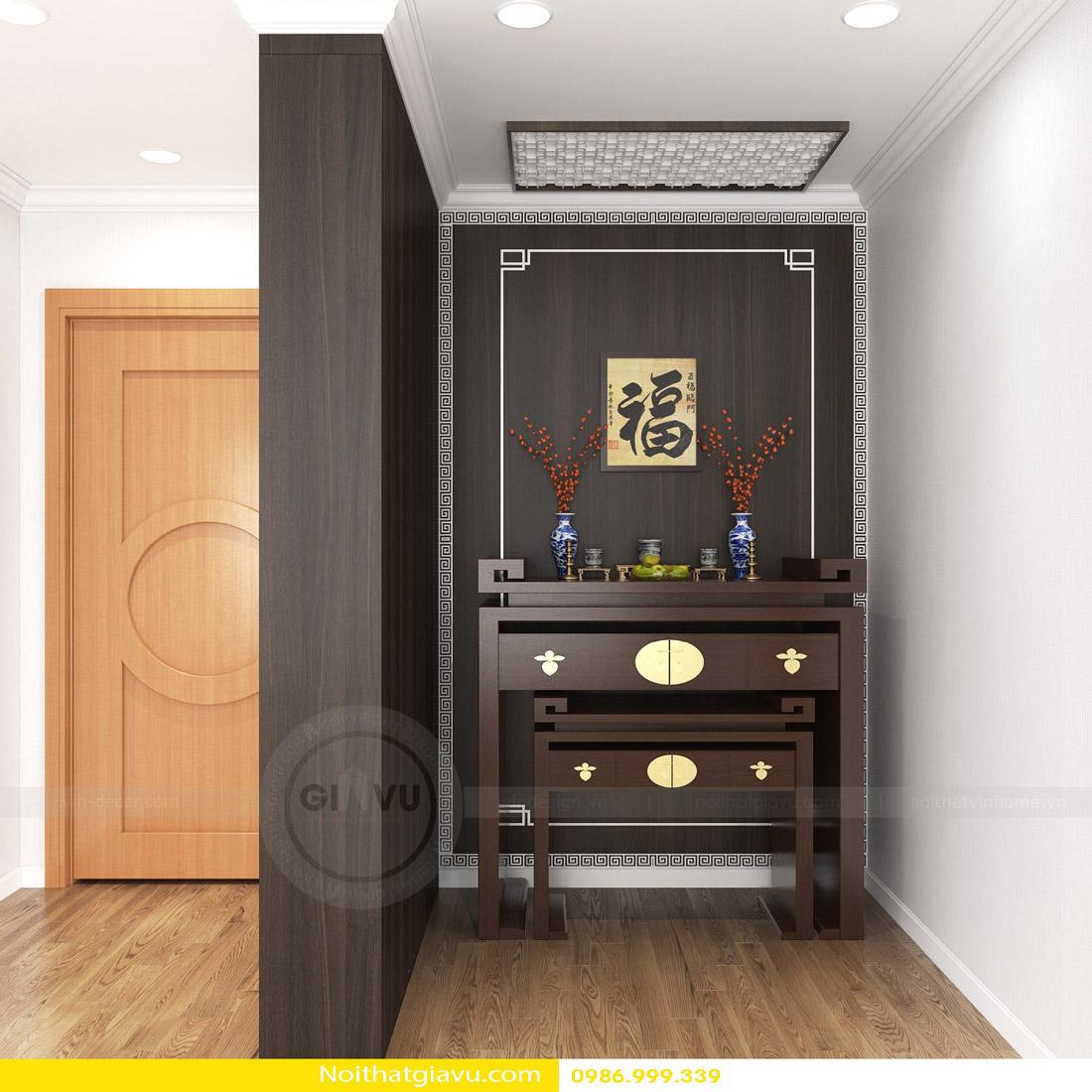 thi công hoàn thiện nội thất căn hộ chung cư Gardenia 05