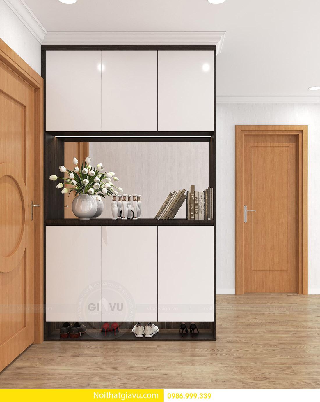 thi công hoàn thiện nội thất căn hộ chung cư Gardenia 06