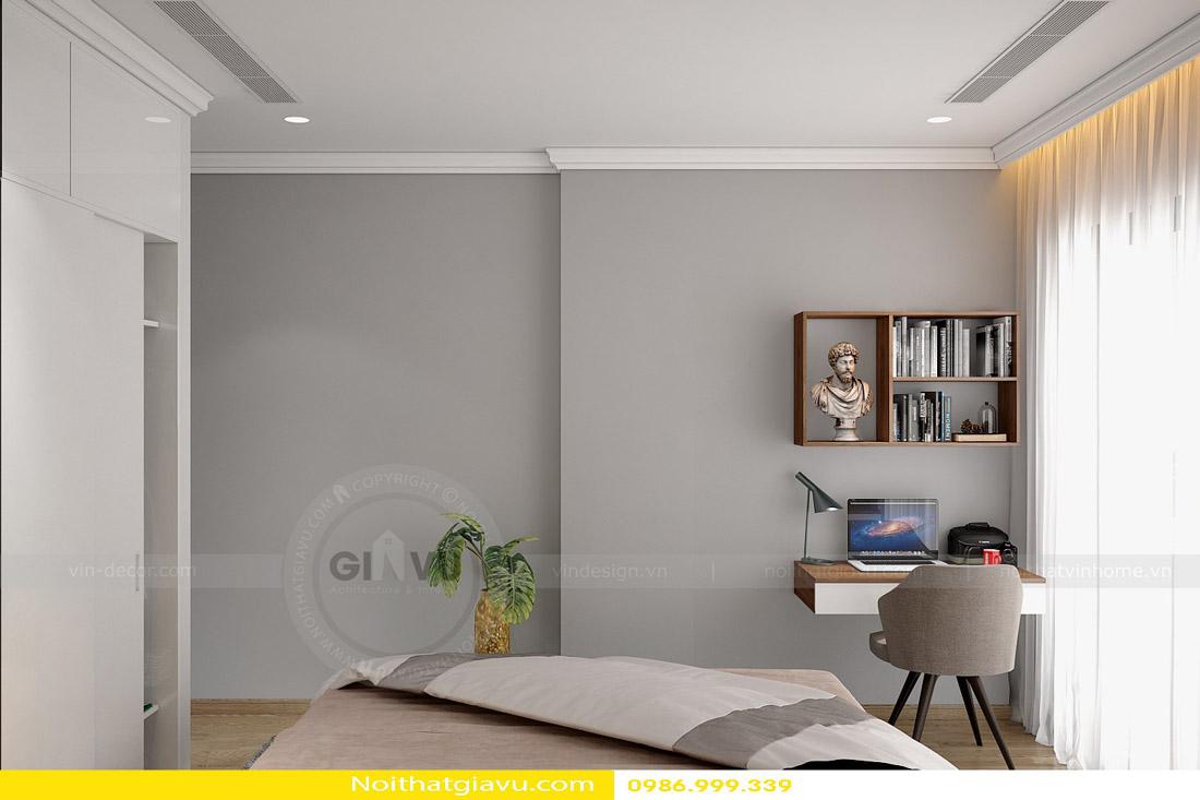 thi công hoàn thiện nội thất căn hộ chung cư Gardenia 11
