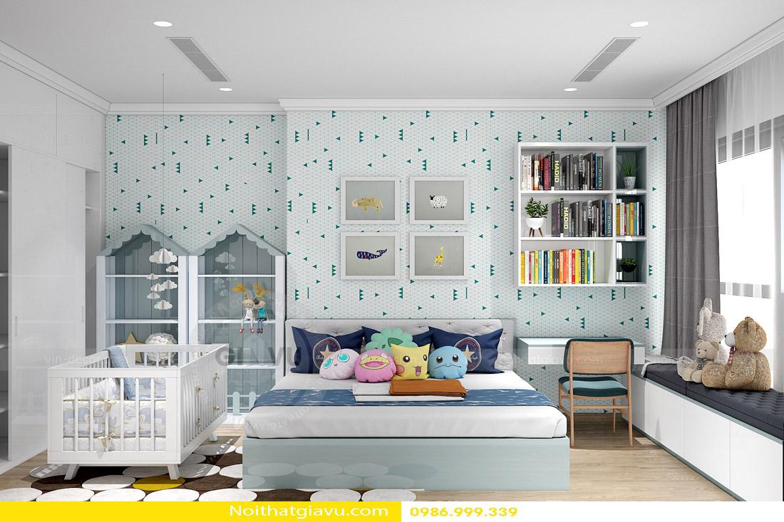 thi công hoàn thiện nội thất căn hộ chung cư Gardenia 12