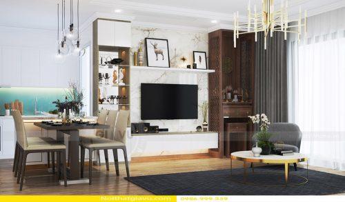 Thi công hoàn thiện nội thất căn hộ Gardenia – Call 0986999339