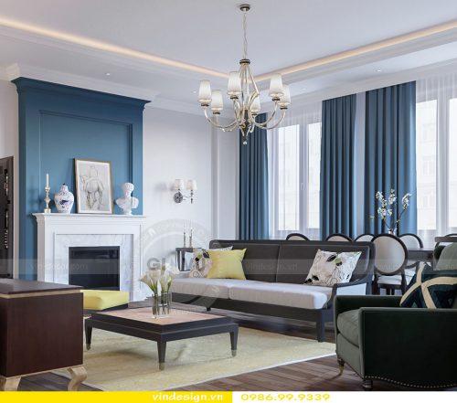 Thi công nội thất căn hộ chung cư Vinhomes Gardenia Cầu Diễn