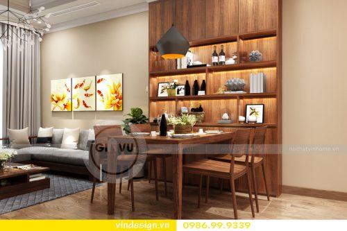 Thi công nội thất căn hộ Vinhomes Gardenia Mỹ Đình