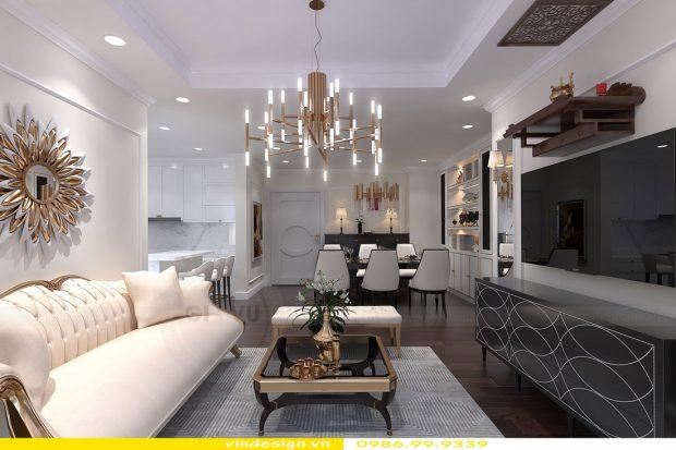Thiết kế nội thất Vinhomes Green Bay – Call 0986999339
