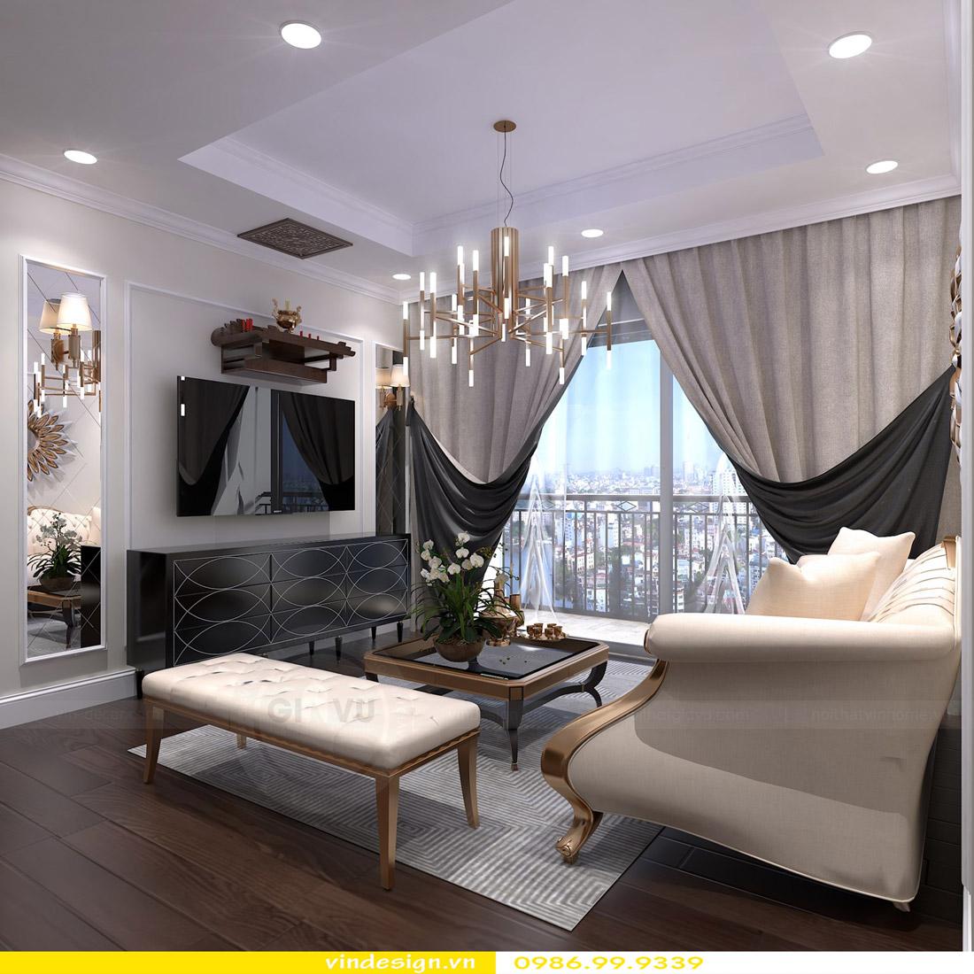 Thiết kế nội thất Vinhomes Green Bay - Call 0986999339 view 5