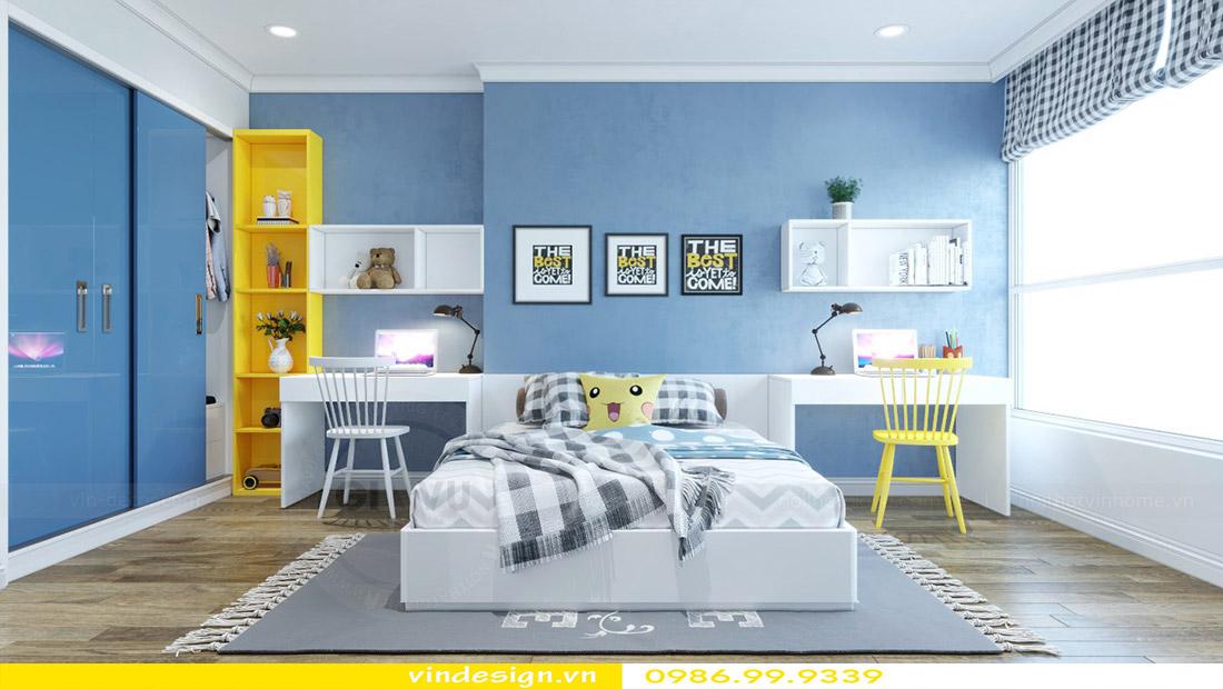 Thiết kế nội thất chung cư Vinhomes Green Bay 10