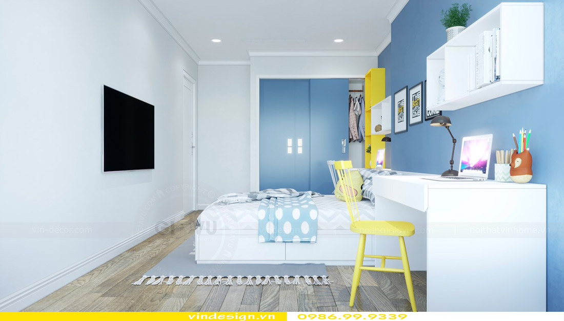 Thiết kế nội thất chung cư Vinhomes Green Bay 11
