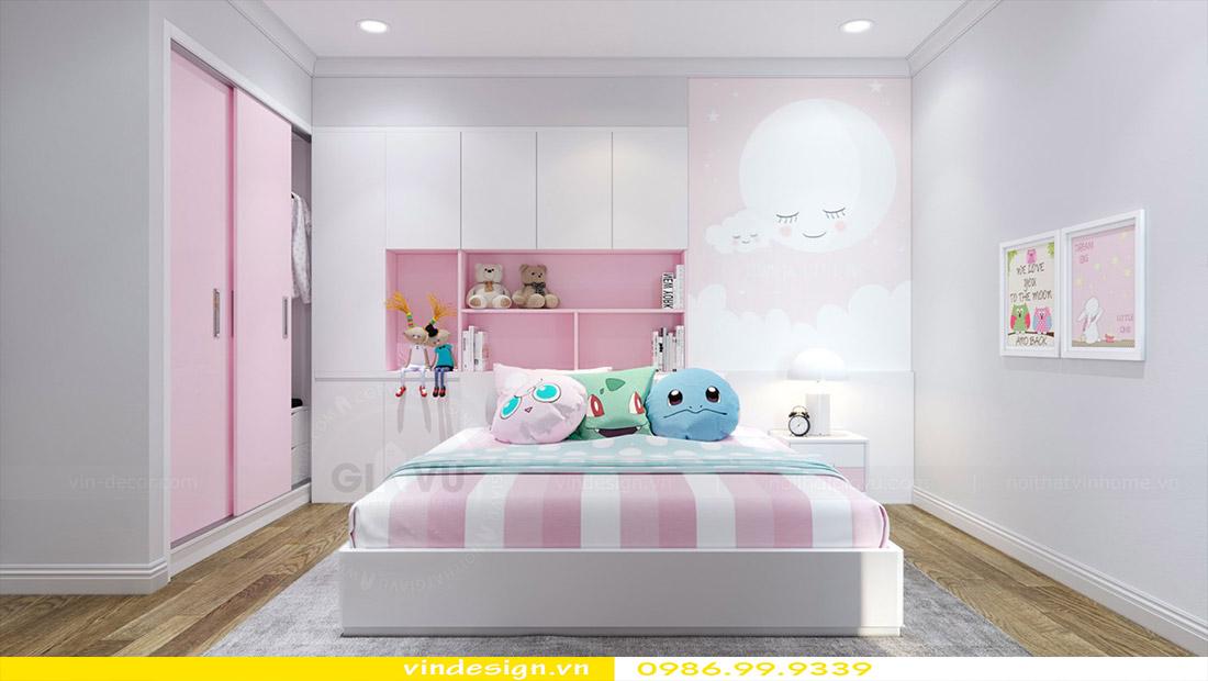 Thiết kế nội thất chung cư Vinhomes Green Bay 12