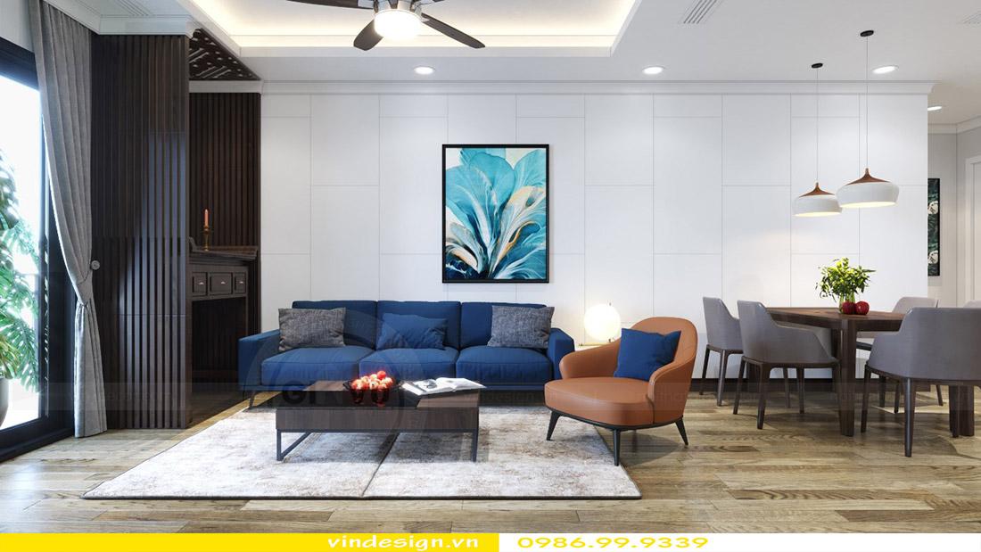 Thiết kế nội thất chung cư Vinhomes Green Bay 2