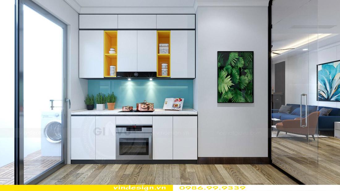 Thiết kế nội thất chung cư Vinhomes Green Bay 4