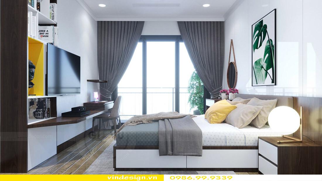 Thiết kế nội thất chung cư Vinhomes Green Bay 6