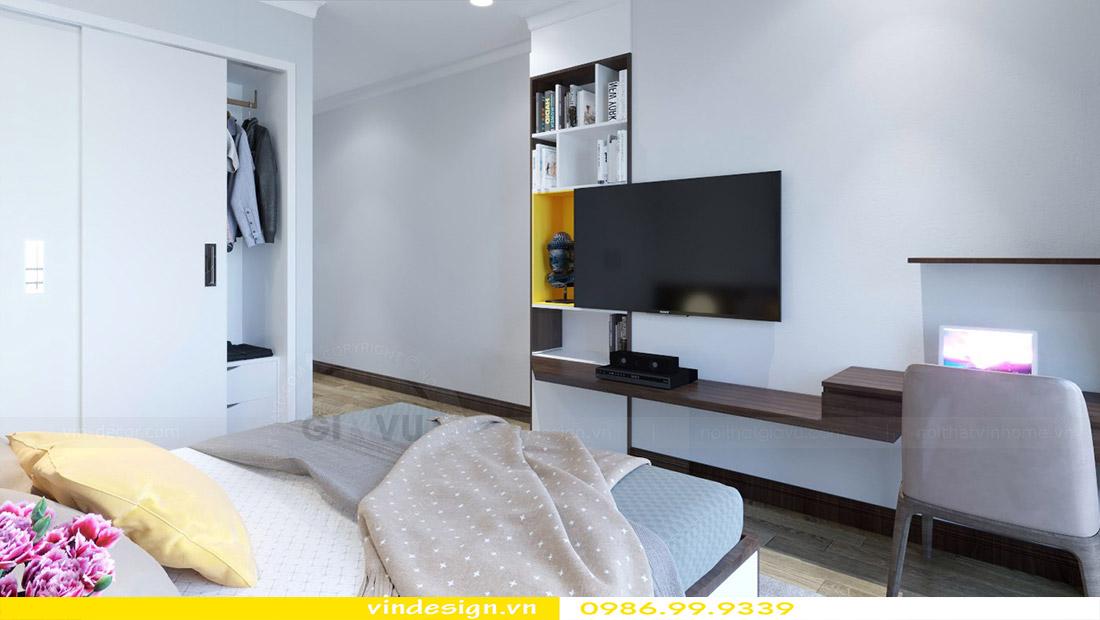 Thiết kế nội thất chung cư Vinhomes Green Bay 7