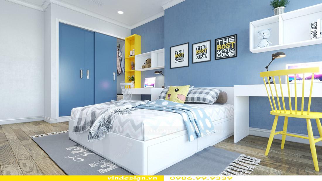 Thiết kế nội thất chung cư Vinhomes Green Bay 9