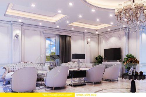 Thiết kế nội thất biệt thự The Harmony – Call 0986999339