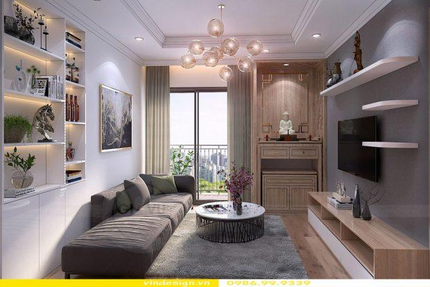 Thiết kế nội thất căn hộ chung cư Green Bay – Call 0986999339
