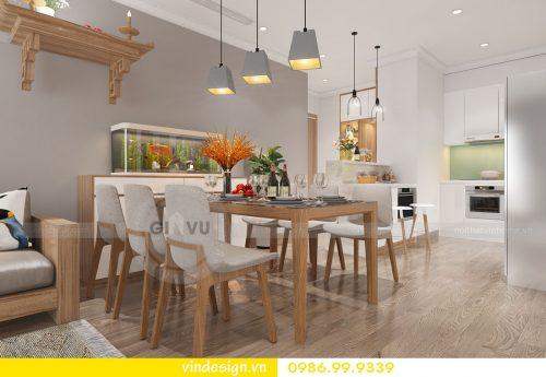 Thiết kế nội thất căn hộ chung cư Vinhomes Gardenia Cầu Diễn Hà Nội