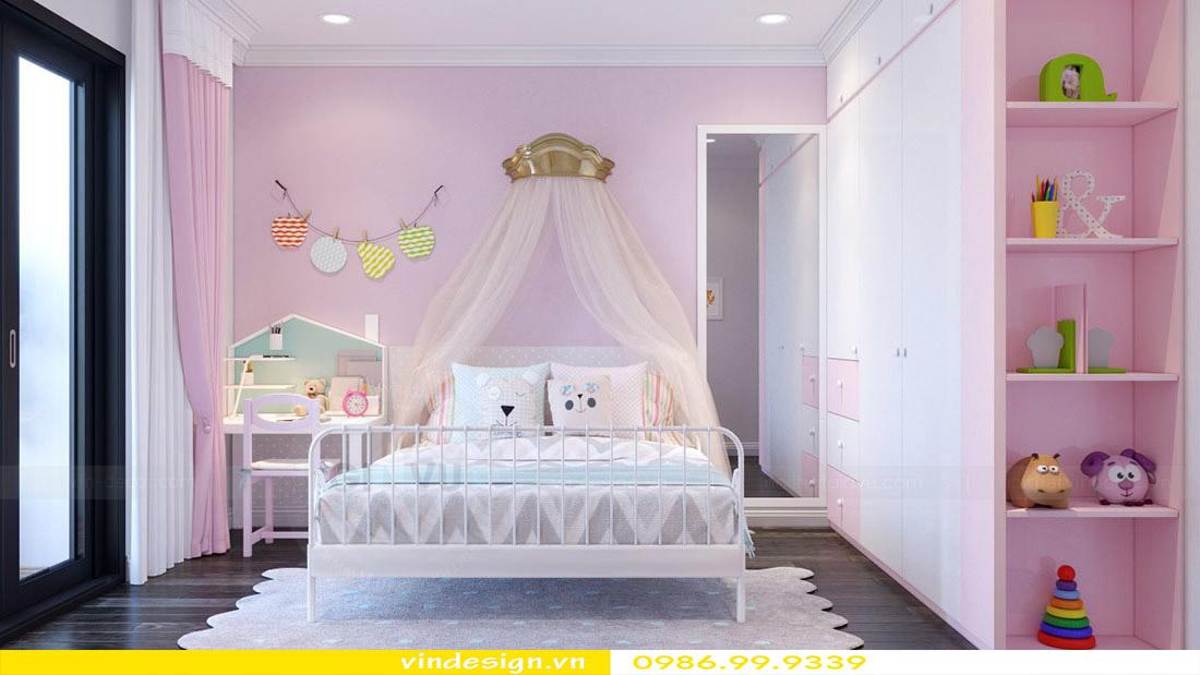 Thiết kế nội thất căn hộ chung cư Vinhomes Green Bay Mễ Trì Hà Nội 12