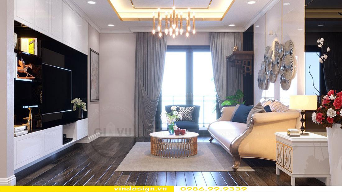 Thiết kế nội thất căn hộ chung cư Vinhomes Green Bay Mễ Trì Hà Nội 2