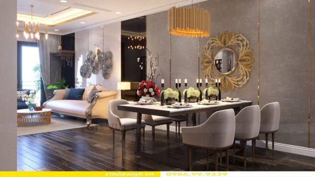 Thiết kế nội thất căn hộ chung cư Vinhomes Green Bay Mễ Trì Hà Nội