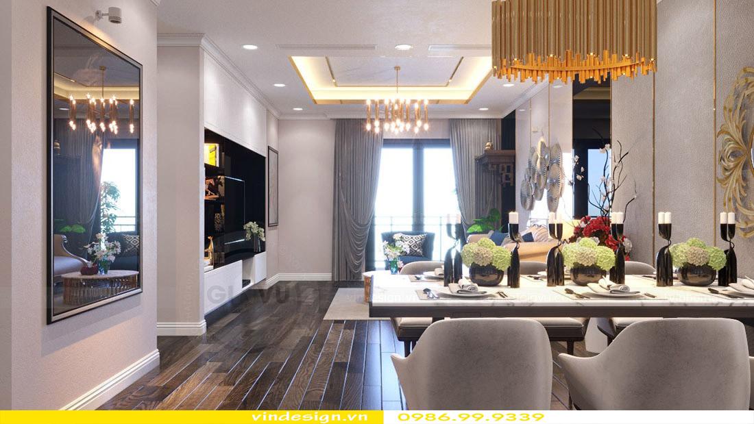 Thiết kế nội thất căn hộ chung cư Vinhomes Green Bay Mễ Trì Hà Nội 4