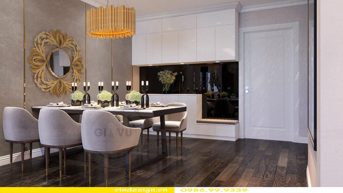 Thiết kế nội thất căn hộ chung cư Vinhomes Green Bay Mễ Trì Hà Nội 5