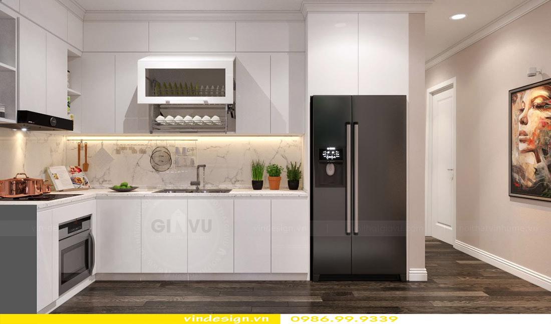 Thiết kế nội thất căn hộ chung cư Vinhomes Green Bay Mễ Trì Hà Nội 6