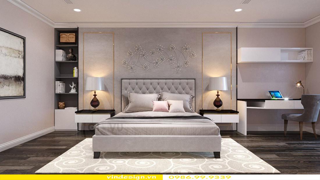 Thiết kế nội thất căn hộ chung cư Vinhomes Green Bay Mễ Trì Hà Nội 8
