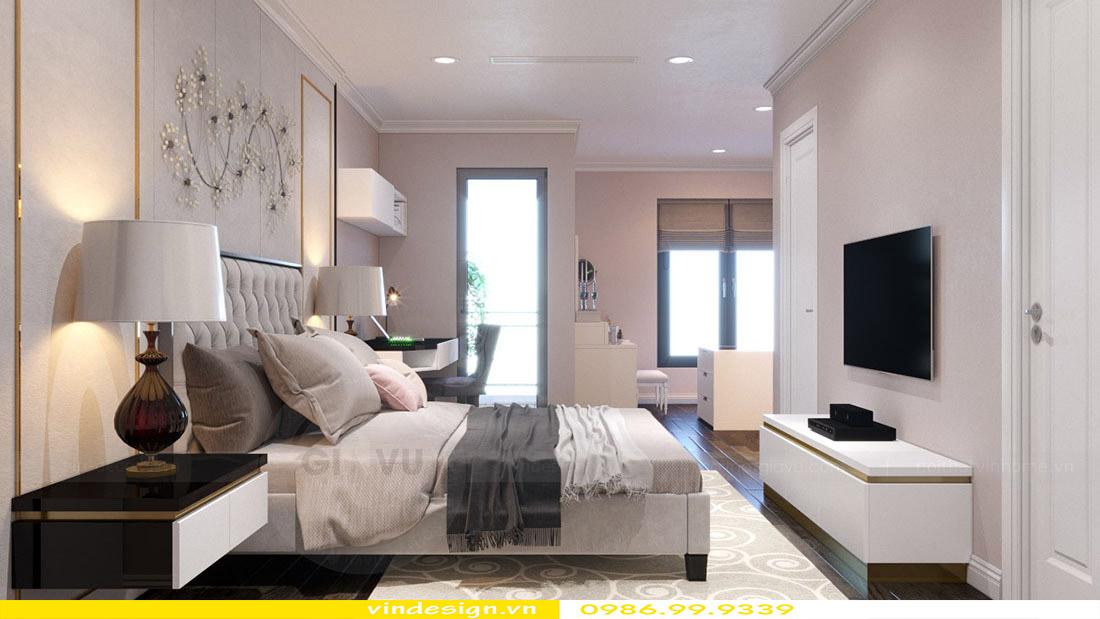 Thiết kế nội thất căn hộ chung cư Vinhomes Green Bay Mễ Trì Hà Nội 9