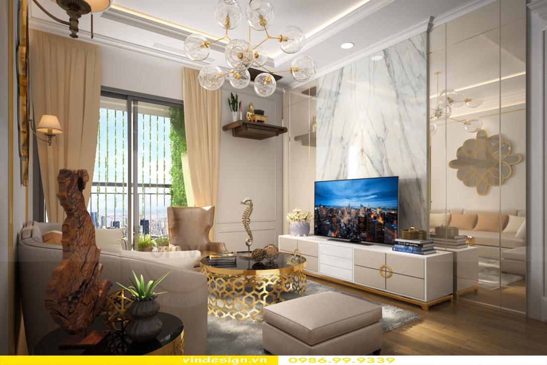 Thiết kế nội thất căn hộ Green Bay view 1