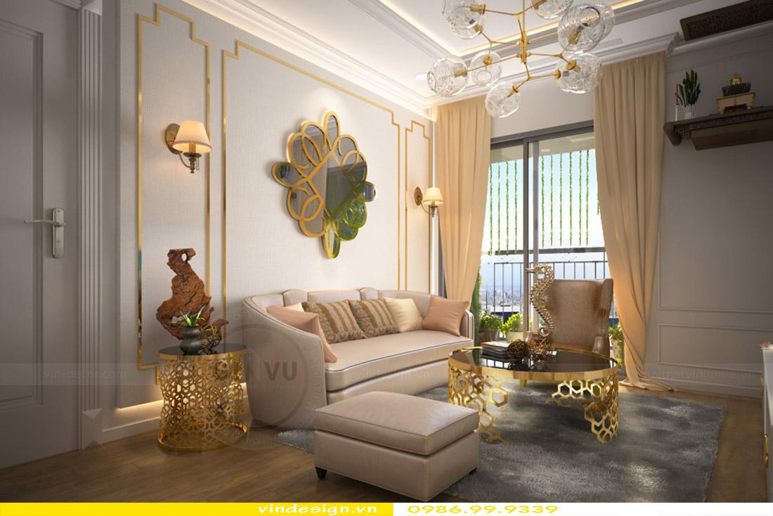 Thiết kế nội thất căn hộ Green Bay view 2