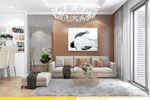 Thiết kế nội thất căn hộ Vinhomes Green Bay- Call 0986999339