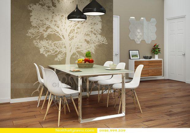 Thiết kế nội thất chung cư Gardenia căn 2 phòng ngủ