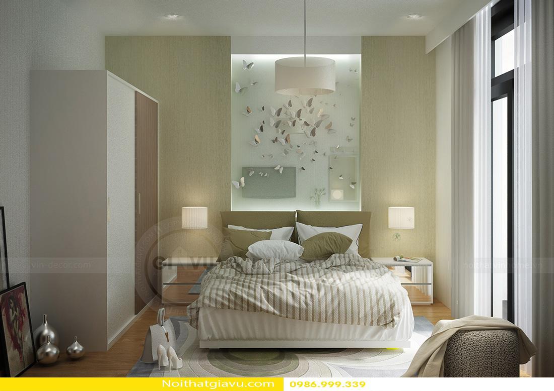 thiết kế nội thất chung cư Gardenia 2 phòng ngủ 06