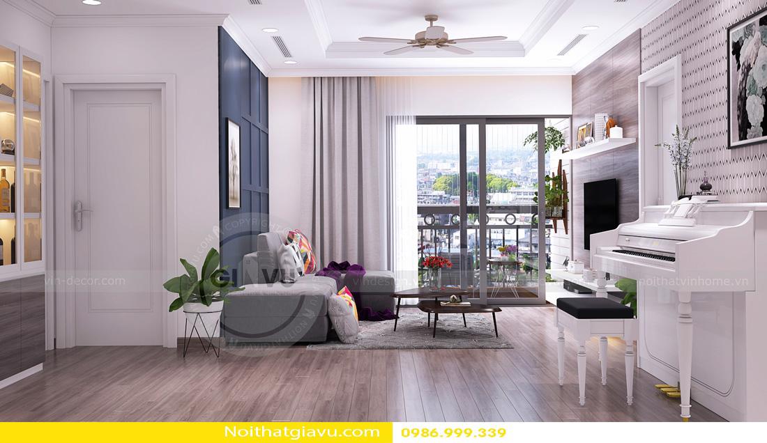 thiết kế nội thất chung cư Gardenia A1 0986999339 03